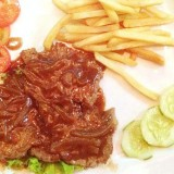 Beef Steak , French fries