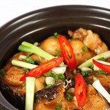 Braised Fish in Clay-Pot