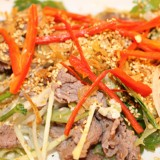 Papaya Salad with beef