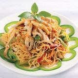 Sauteed Noodle with Chicken