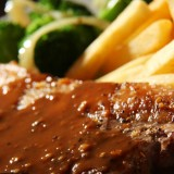 Beef In Pepper Sauce + French Fries