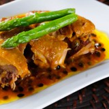 Chicken in Passion Fruit Sauce