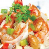 Stir-Fried Prawn & Coconut