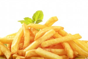 french-fries-background